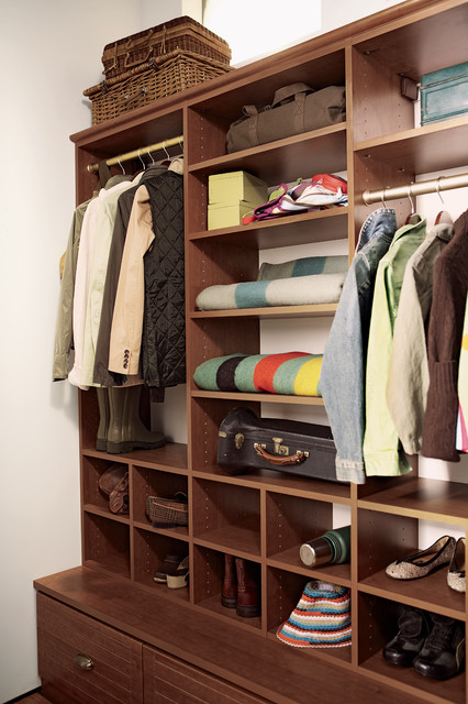 Mud Room traditional closet