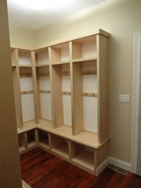 Mud Room Traditional Closet Boston By R E Price Cabinetry