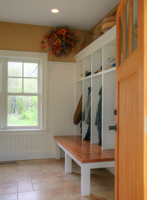 Mudroom Traditional Closet Bridgeport By Ck Architects