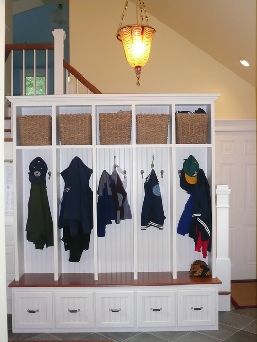 Mudrooms traditional closet