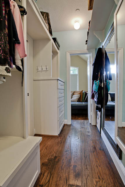 Multi Room Makeover traditional closet