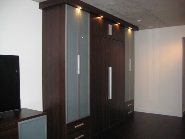 Murphy Bed And Cabinetry Modern Closet Toronto By