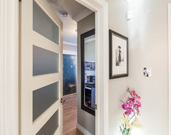 My Houzz: Open Concept Apartment Above Retail In Downtown St. John's contemporary-closet