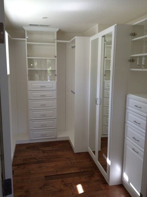Napa Valley Master Bedroom Closet
