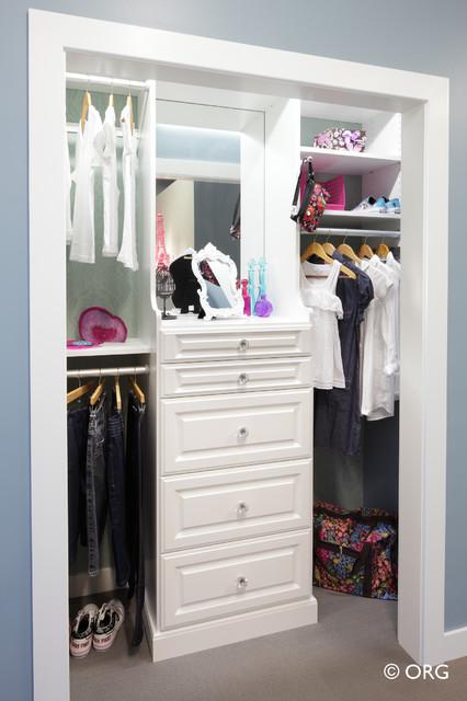 Naples Florida Custom Home Organization Solutions For Custom Closets,  Garage Cab Traditional Closet