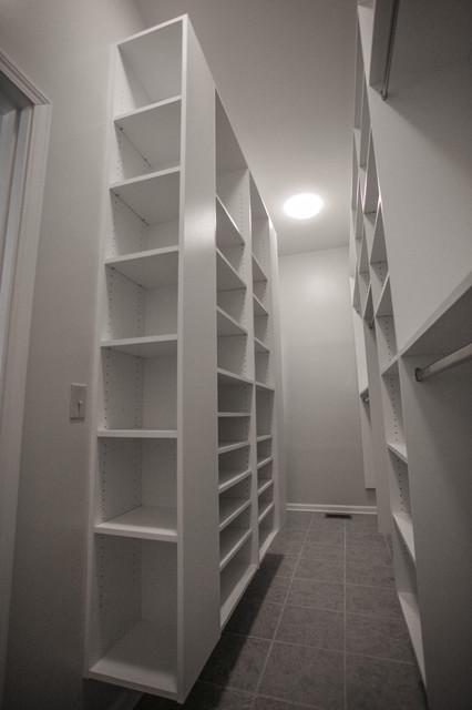 Merveilleux Narrow Room Walking Closet Contemporary Closet