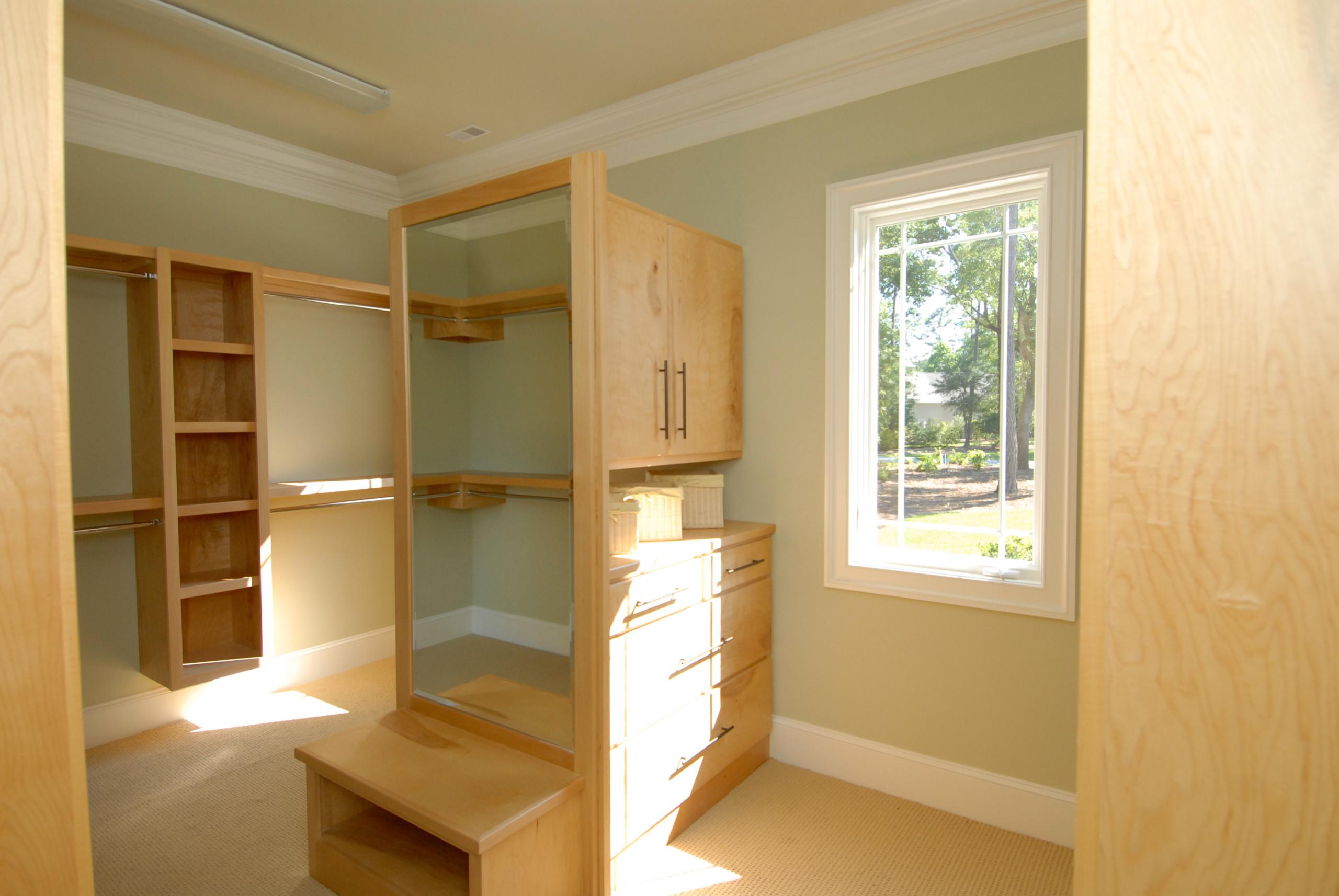 Natural Birch Closet System