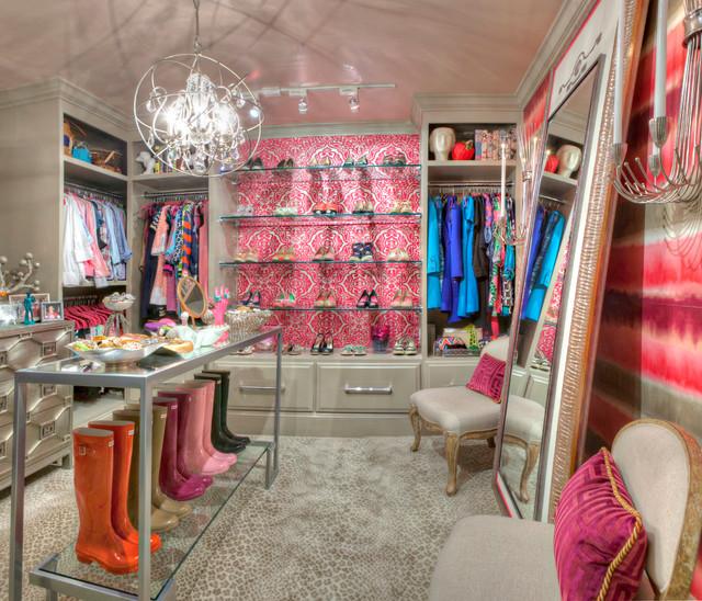 NC Home contemporary-closet