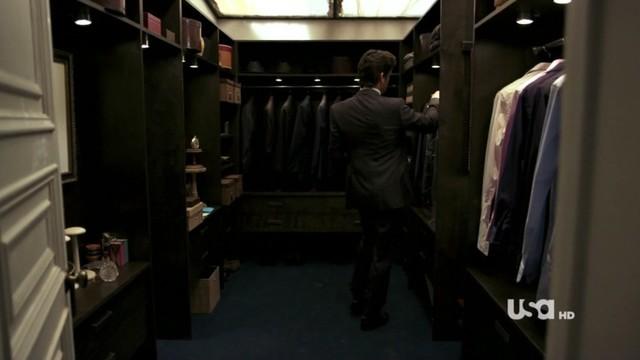 Cabina Armadio Nel York : Neal caffrey s closet moderno armadio new york