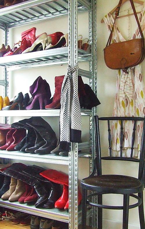 Garage Shoe Storage Shelves