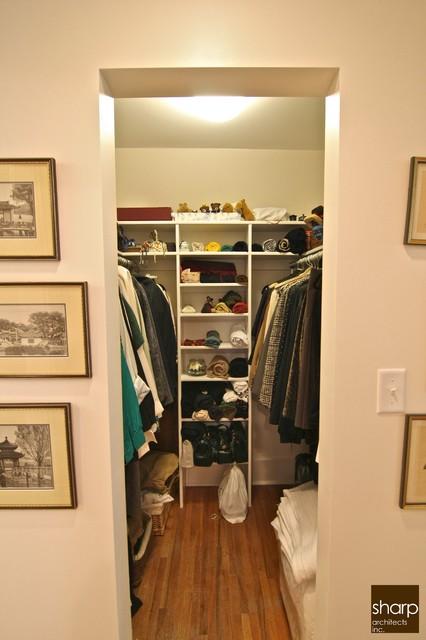Ogilvie Residence traditional-closet