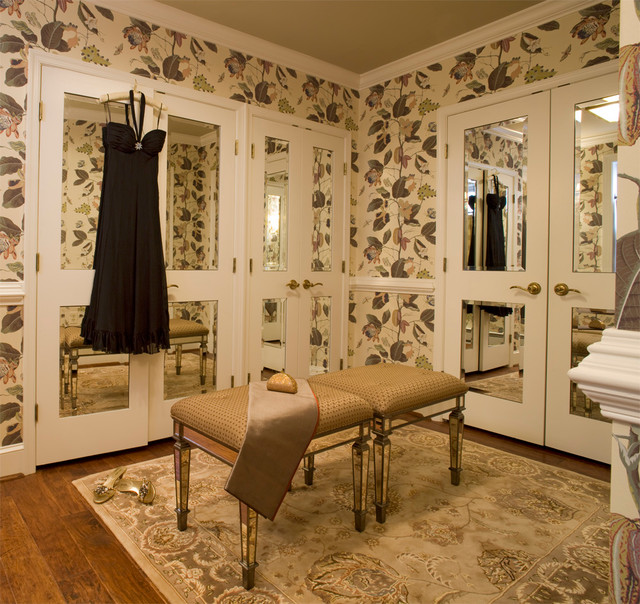 Opulent Master Suite Traditional Closet Baltimore By Row