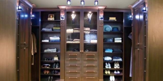 Organize To Go Master Walk In Closet Organizer, Tilt Shoes, Showcase Doors  Traditional