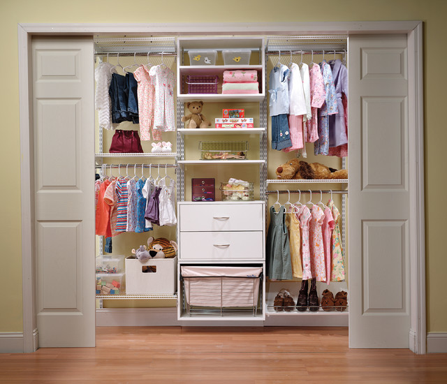 Organized Kid's Closet System by Organized Living traditional-closet