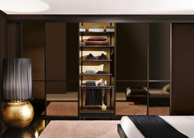 Our Architectural Room divider panels & Designer Doors contemporary-closet