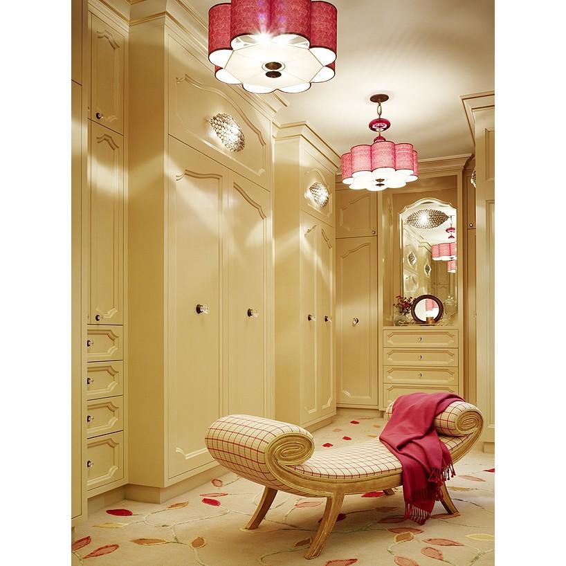 Example of a classic closet design in San Francisco