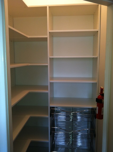 Pantry traditional closet philadelphia by bella for Pantry closet design ideas