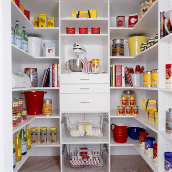 Pantry contemporary-closet