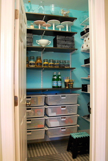 Simplifying remodeling get it done how to clean out the for Modern walk in pantry