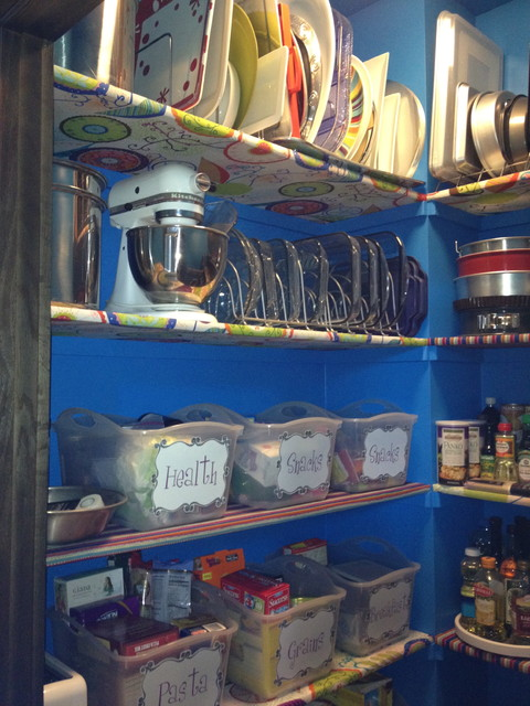 Pantry Redo Eclectic Closet Omaha By Artistico