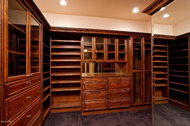 Paradise Valley Custom Home Build Modern Closet