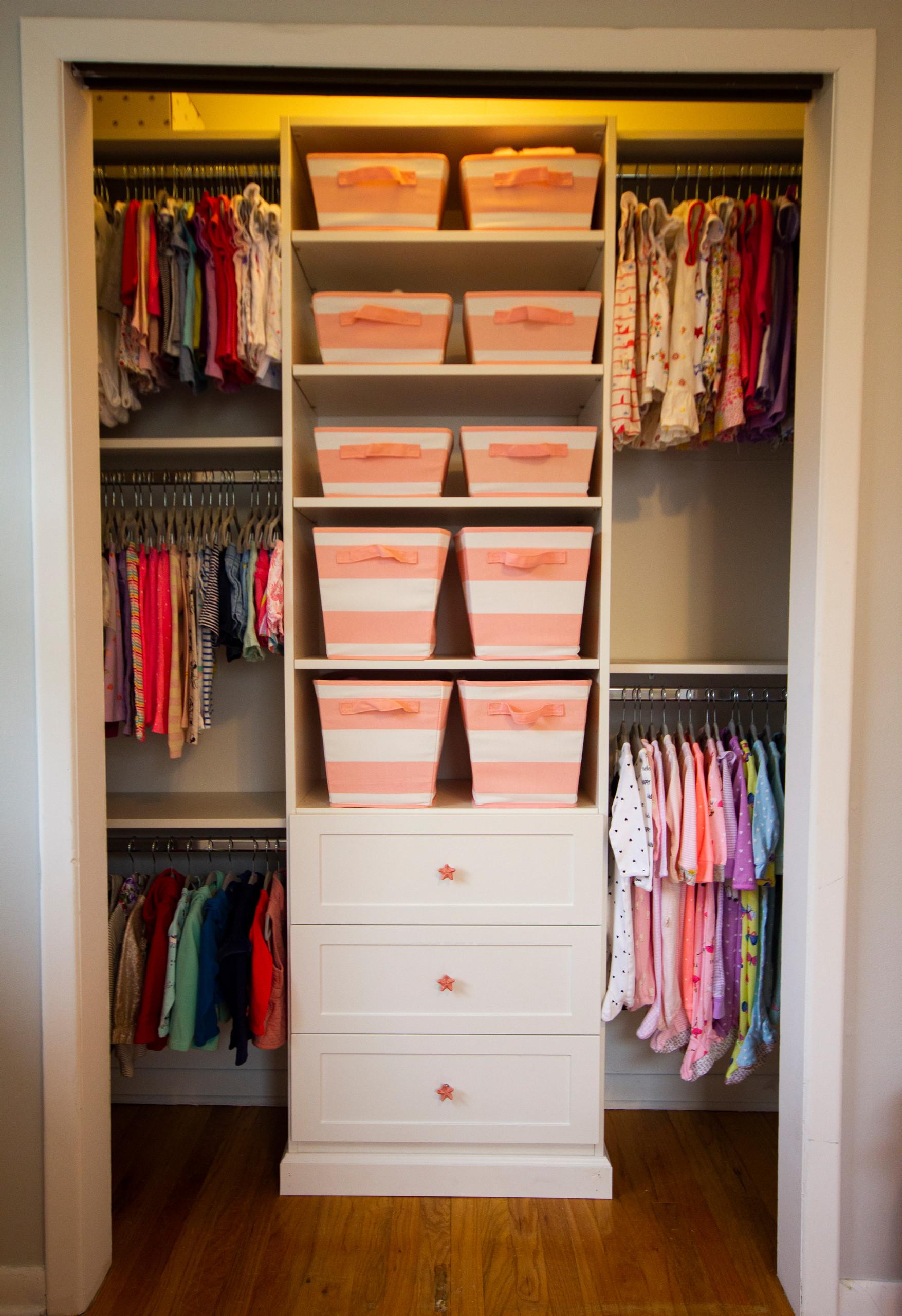 Perfect Nursery Closet