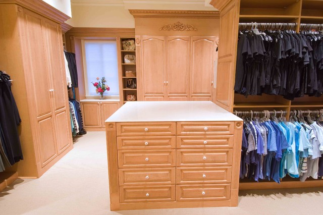 Photos from several different projects traditional-closet