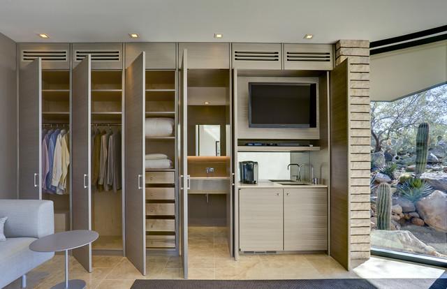 Tucson Residence Kitchen contemporary-closet