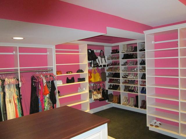Pink Closet Room. GirlsRoom-Blue-Rug-Pink-Closet-Door Pink Closet ...