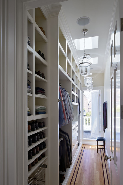 Presidio Heights Residence traditional-closet