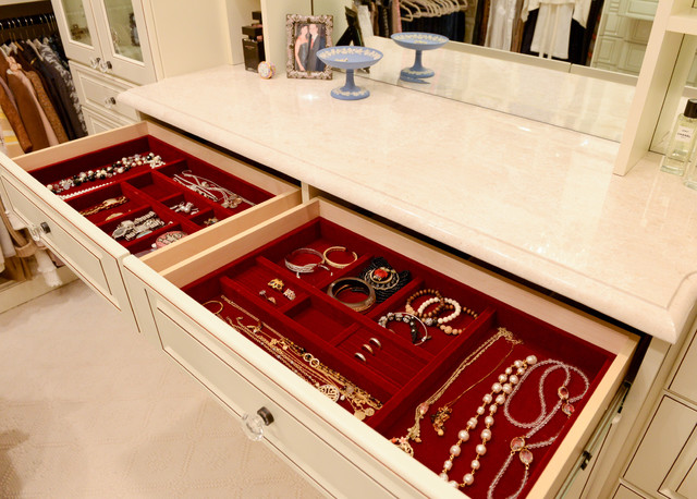 Pretty and Practical traditional-closet