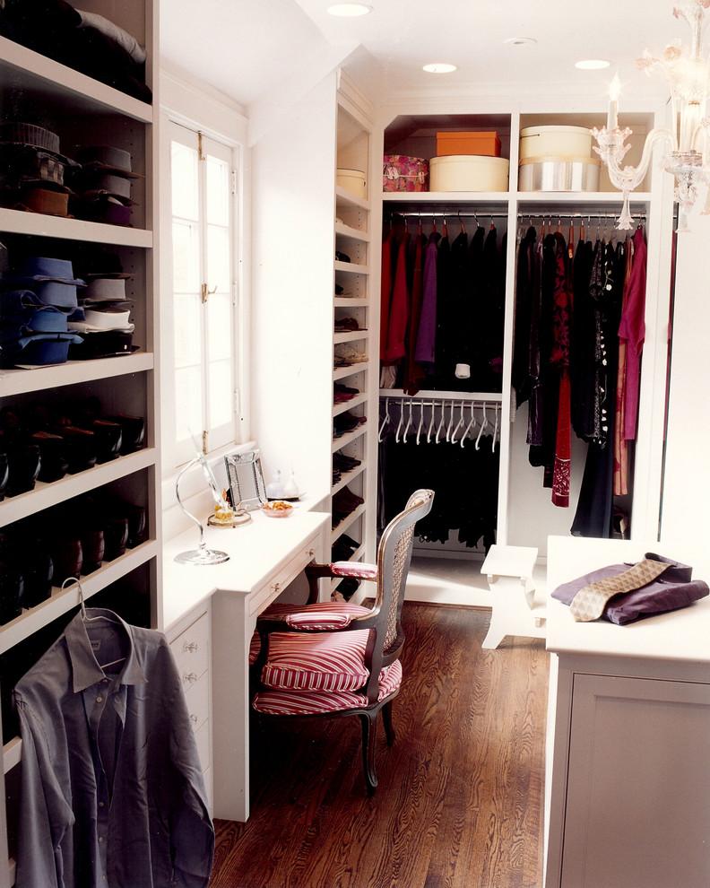 Elegant walk-in closet photo in Cincinnati