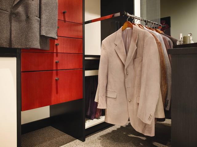 Linear Solutions Closet by Wood-Mode contemporary-closet