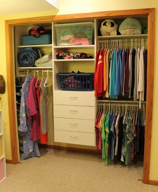 Reach In Bedroom Closets Traditional Closet Minneapolis By Closet Logic