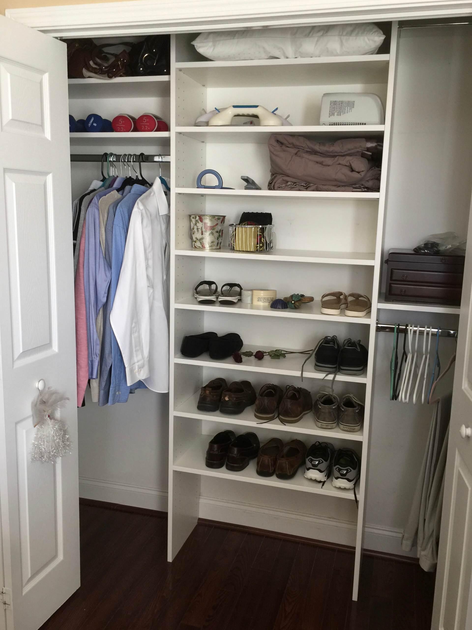 Reach-in Closet in Greer, SC