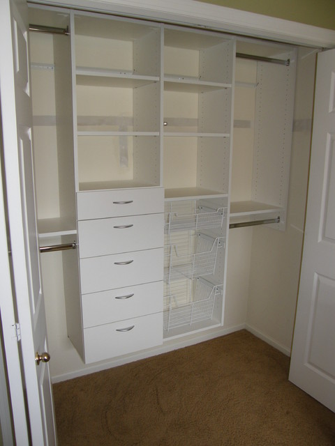 Reach-In Closets traditional-closet