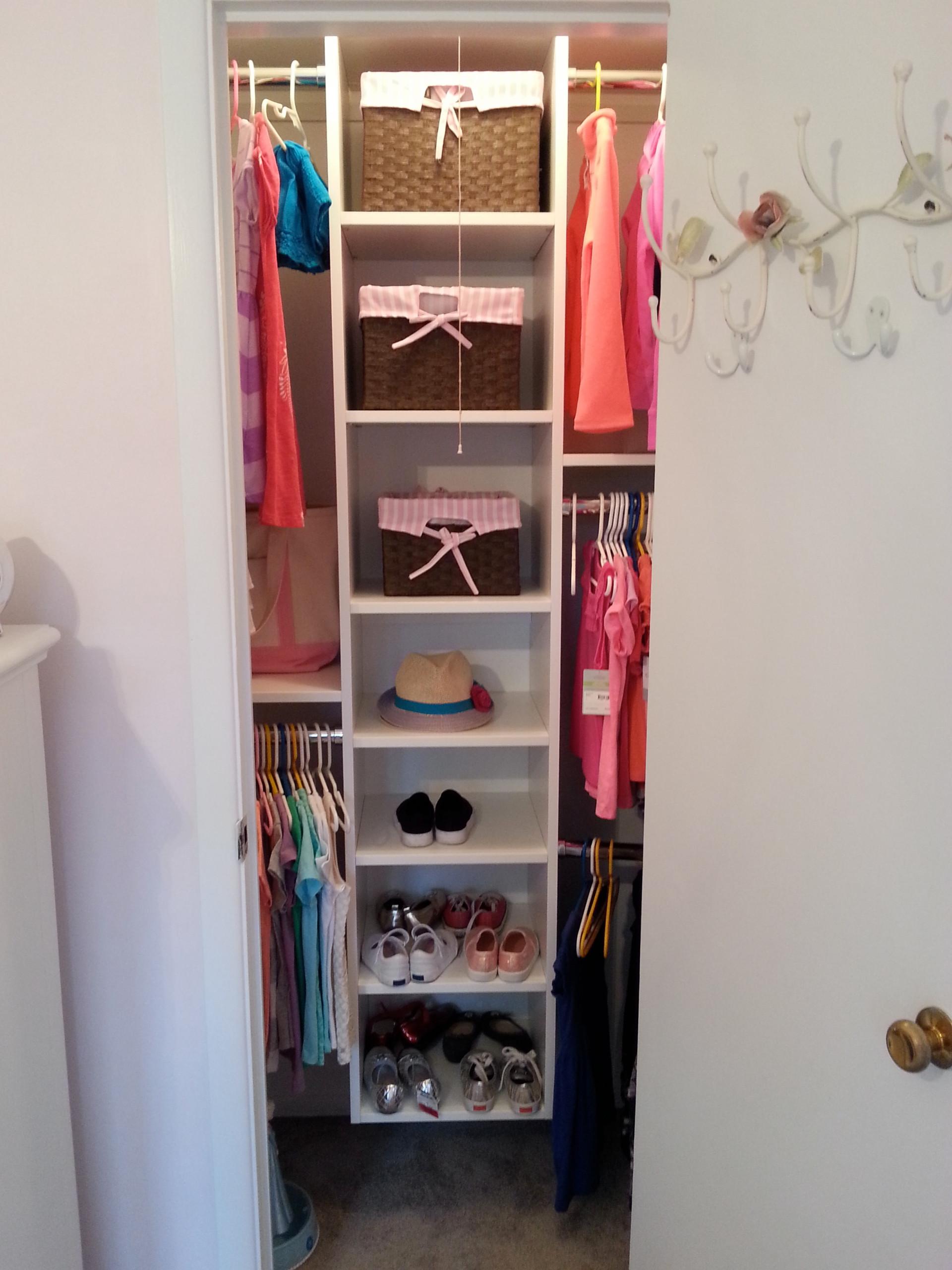 Reach-in Closets
