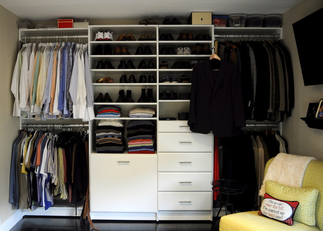 Reach in closets - Traditional - Closet - philadelphia - by Bella-Systems Philly