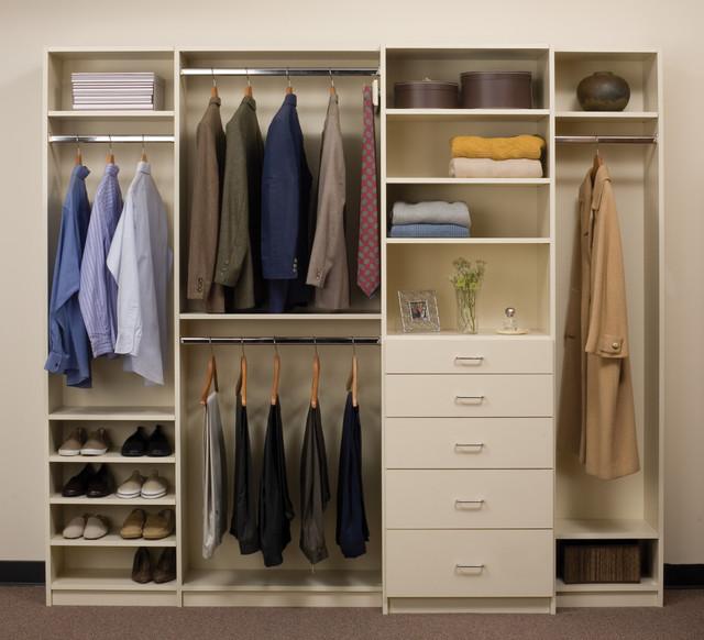 reach in closets contemporary closet