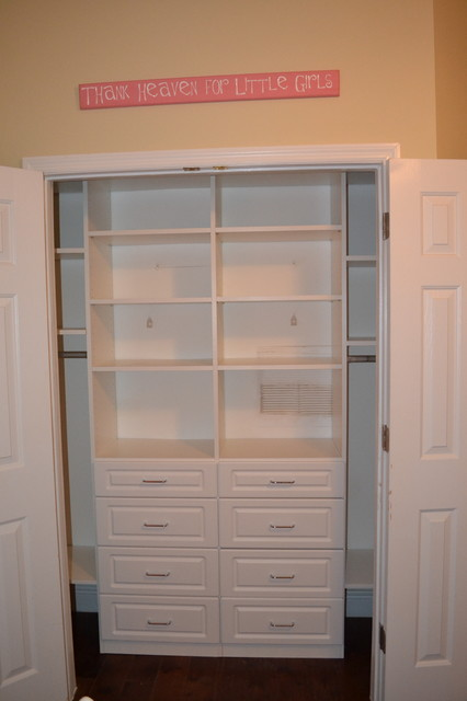 Reach In Closets Double Dresser