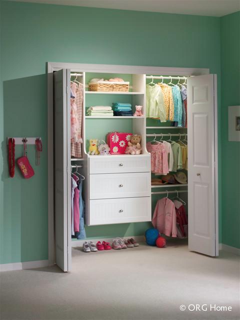 Reach In Closets modern-closet