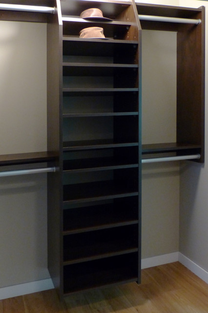 Reach in closets kelowna shoe hat storage for Hat organizer for closet
