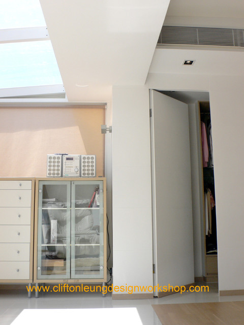 Red Hill Peninsula - The Green Villa contemporary-closet
