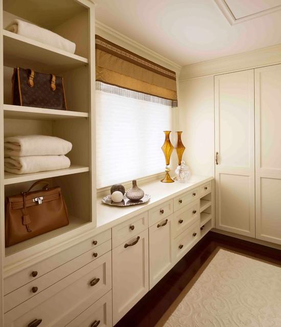 Regina Sturrock Design Inc. Couples Retreat traditional-closet