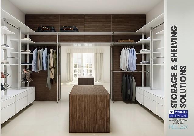 RELAX Closet System contemporary-closet