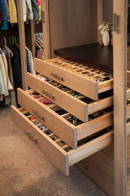 Restoration Hardware Style Home - Transitional - Closet - Cleveland - by Mullet Cabinet