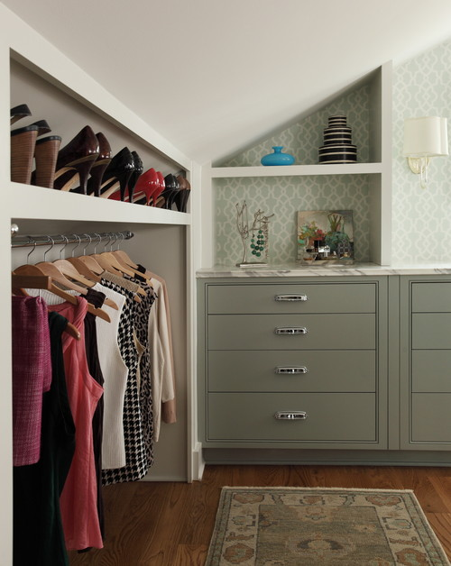 Sloped Or Slanted Ceilings And Knee Walls Can Present Problems When It Comes To Storage