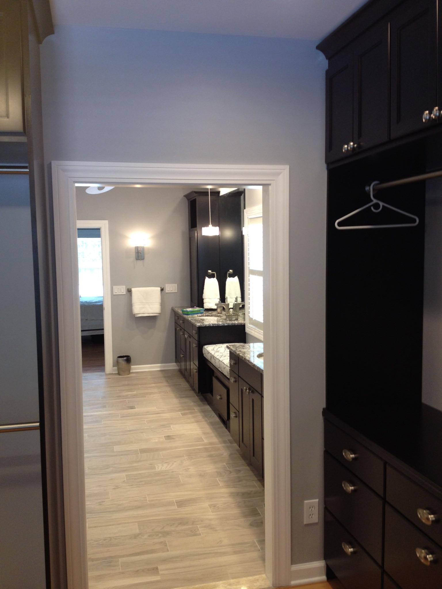 Rita and Dan; Master Bedroom and Bathroom, Remodel-After