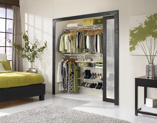 A translucent sliding door enable you to peek into your clothes bags and shoes. & 20 walk-in-wardrobe inspirations \u2013 JewelPie