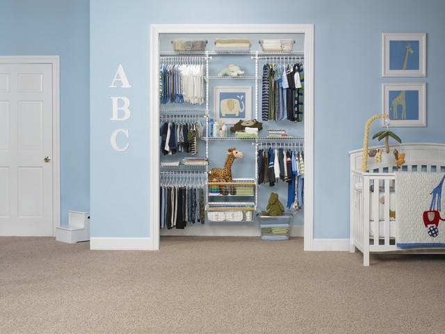 Rubbermaid HomeFree Closet - Baby's Closet - Closet - by Rubbermaid